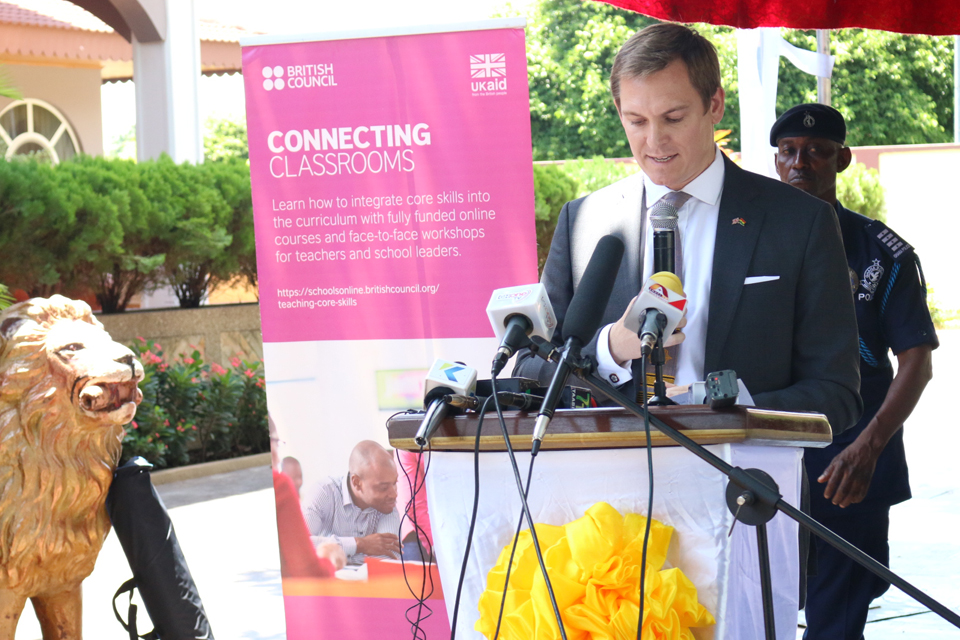British Council and the Otumfuo Osei Tutu II Foundation MoU signing: speech by Tom Hartley