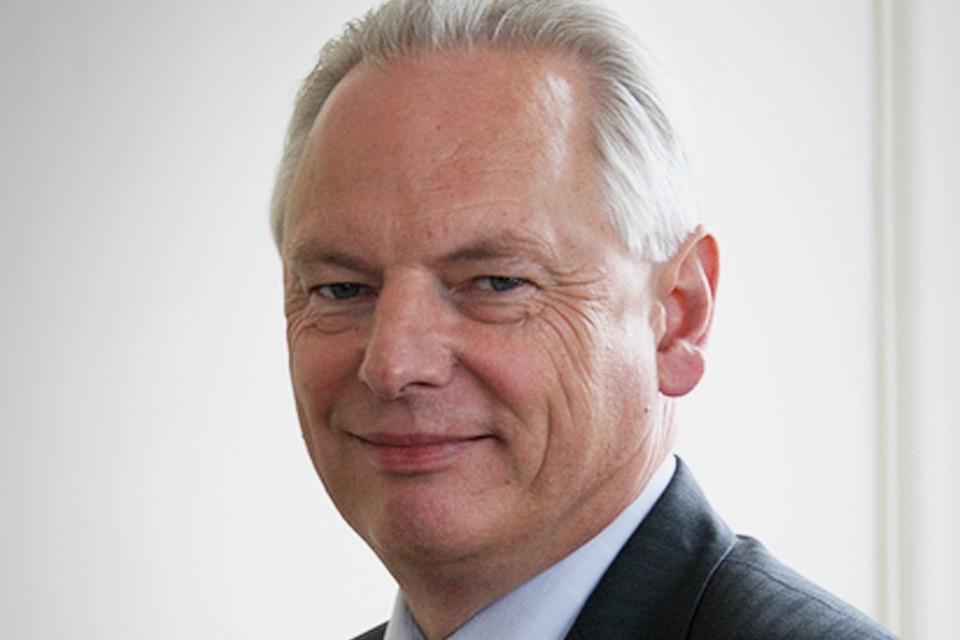 Francis Maude at an Open Government Partnership meeting in Dublin