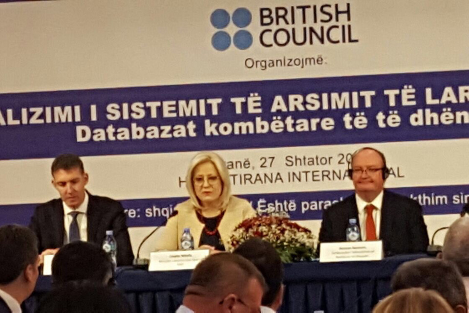 Higher Education in Albania conference