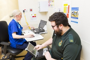 £40 million investment to reduce NHS staff login times