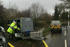 Environment Agency teams help flooded communities recover