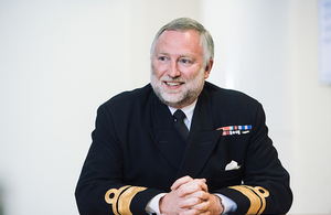 UK Hydrographic Office appoints Rear Admiral Tim Lowe CBE as Acting Chief Executive
