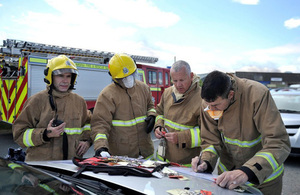 Sellafield team aid fire response
