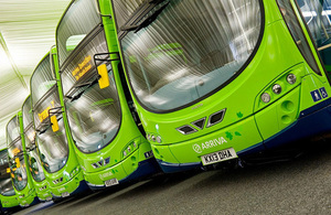 Cleaner journeys as government commits £11 million to greener buses