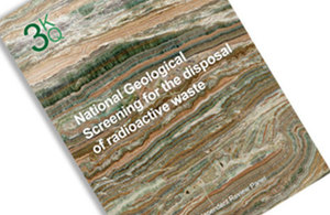 National Geological Screening report