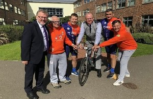 David Mundell helps launch Lockerbie memorial cycle