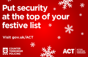 Counter Terrorism Policing security advice