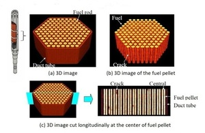 Case study: Role of 3D imaging in managing spent fuel stored under water
