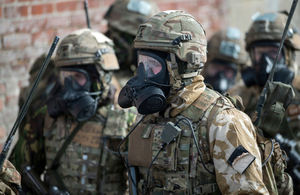 Multi million pound competition to destroy battlefield chemical weapons launched by UK and US