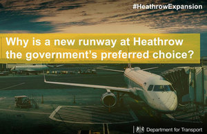 Government agrees final proposal for Heathrow expansion