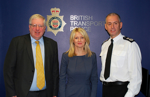New Chair of the British Transport Police Authority announced
