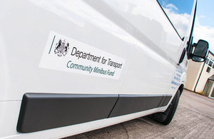 £2 million available for community minibuses