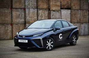 £23 million boost for hydrogen powered vehicles and infrastructure