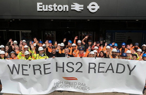 Full speed ahead as HS2 gets Royal Assent