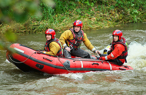 Almost £1 million awarded to 66 water rescue charities