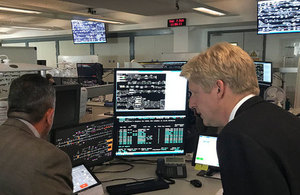 Jo Johnson visits northern staff and passenger groups in Manchester