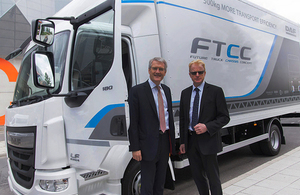 Cash boost for cleaner, greener vans and lorries