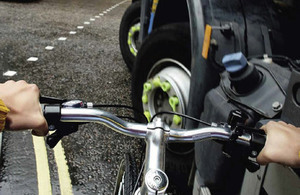 New THINK! campaign to improve cyclists' safety