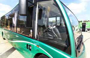 Government announces £48 million for cleaner, greener buses