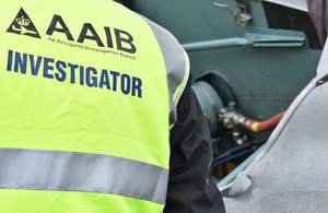 The AAIB is sending a team Northern Ireland