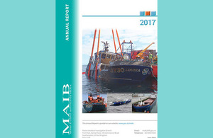 MAIB Annual Report 2017 published
