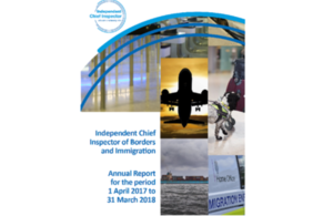 Chief Inspector publishes 2017 18 Annual Report