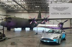 Welsh Secretary marks Aston Martin's investment in zero emission vehicle manufacturing at St Athan site