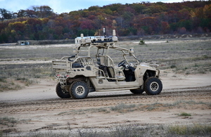Xbox controllers, Hoverbikes and robotic trucks trialled by British and American Armies