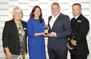 UK Hydrographic Office wins National Apprenticeship Award