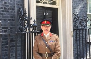 Brigadier promotion for lifetime Reservist and Dstl employee