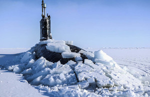 Defence Secretary announces new Defence Arctic Strategy