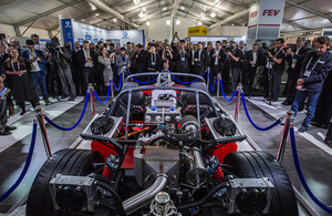 LCV2017: high performance carbon reduction sports car unveiled