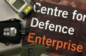 Ministry of Defence and the Home Office seeking innovative solutions to defence issues