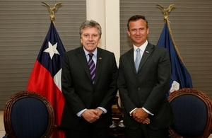 Defence Minister's visit strengthens UK ties with South America