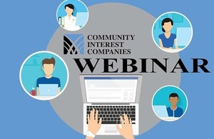 Community Interest Companies and Sustainability – Funding, Dividends and Tax Relief webinar