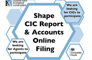Help shape the development of a new Online Filing service for CICs