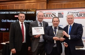 CNC secure prestigious Counter Terror Policing Award at national event