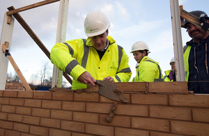 Chancellor welcomes massive housing boost from Persimmon