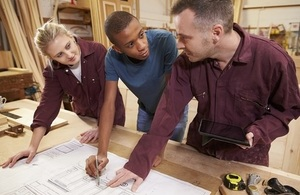 New support for young care leavers starting an apprenticeship