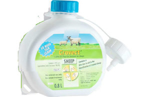 Crovect 1.25% w/v Pour on Solution for Sheep   Product defect recall alert