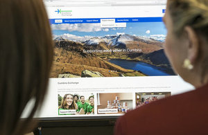 New 'Cumbria Exchange' portal is launched