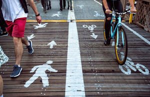 Encouraging cycling and walking: apply for business funding
