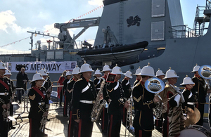 New Navy ship named in Glasgow