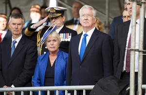 New frigates opportunity for Ferguson as Defence Secretary visits