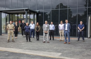 Completion of training facility at RAF Waddington