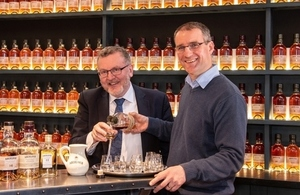 UK Government raises a dram to Scotch whisky industry