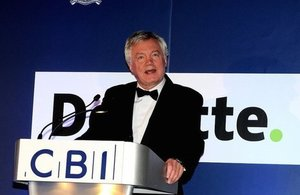 BACK BRITAIN' AS WE APPROACH BREXIT, DAVIS TELLS BUSINESS LEADERS