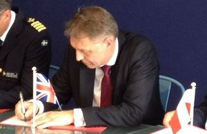 UK sign Le Bourget Momentum at the Paris Air Show