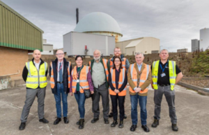 Committee on Radioactive Waste Management visit to Dounreay