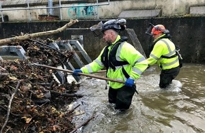 Press release: Environment Agency warns communities  to remain vigilant to the risk of weekend flooding